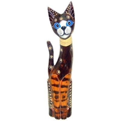 Купить Статуэтка Кошка хвост трубой 100см. HI-3AS 03-01A в Москве