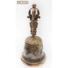 Колокольчик Бронзовый буддийский,высота 18см