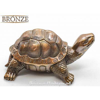 Купить Бронзовая Черепаха 13см в Москве