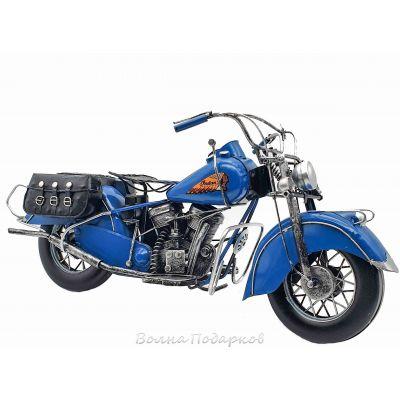 Купить  Модель мотоцикла Индиан 40 см, металл в Москве
