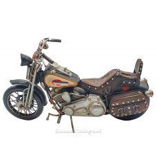 Модель мотоцикла 30 см, металл