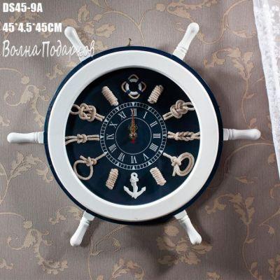 Купить Часы штурвал 45см в Москве