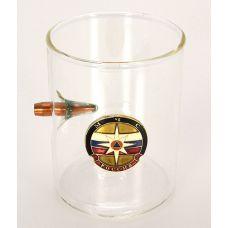 Стакан для крепких напитков МЧС,с пулей