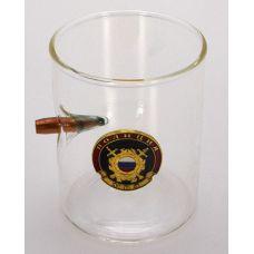 Стакан для крепких напитков с символикой Полиция