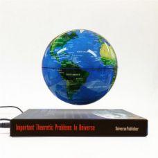 Глобус левитирующий на книге,диаметр 9см.