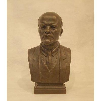 Купить Бюст  Ленина В.И.,18см,бронза в Москве