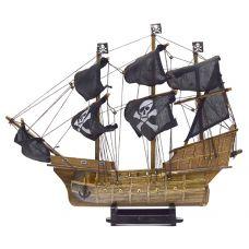 Пиратский корабль,  высота 36см