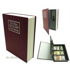 Книга сейф с ключом 27см