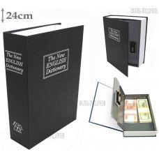 Книга сейф с ключом 24см