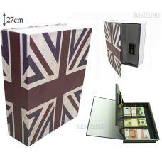 Книга сейф с кодовым замком  BRITAIN, 27см