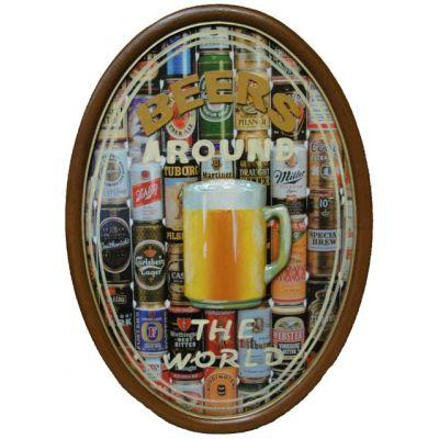 """Купить панно барное  """"Пиво - вокруг света"""" в Москве"""