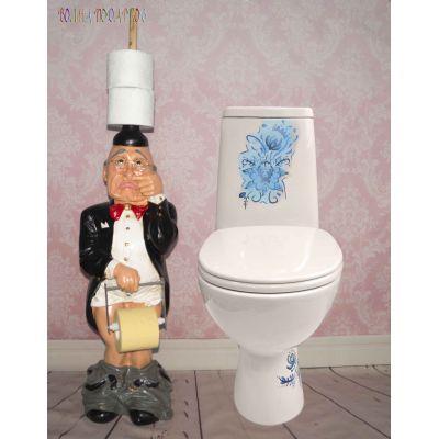 Купить Держатель для туалетной бумаги ГНОМ в Москве