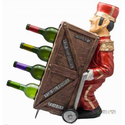 Купить Напольный держатель для бутылок Портье в Москве