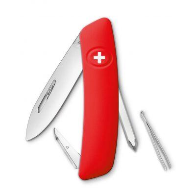 Купить Нож SWIZA D02 красный, 75 мм, 6 функций в Москве