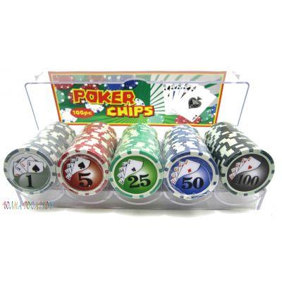 Купить Фишки для покера профессиональные в Москве